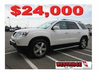2011 GMC Acadia SLT, Remote Start, Remote Trunk Release, Heated