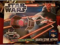 Star Wars Scalextric - Death Star Attack - Complete in box