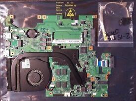 LENOVO FLEX 2-15/15D Motherboard + FAN + HEATSINK+CPU AMD A8 A8-6410 2.4 GHz+DC JACK £19 ONO