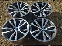 Genuine OEM R20 BMW X5 X6 Msport Alloys - Styling 469 - F15 F16 E70 E71