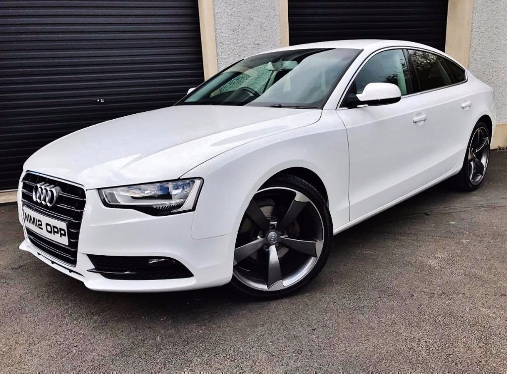 2012 audi a5 2 0 tdi 143 se facelift sportback not a3 a4. Black Bedroom Furniture Sets. Home Design Ideas