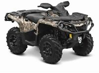 2015 Can-Am Outlander Max 1000 XT $39.01/wk (120 months @ 7.99%)