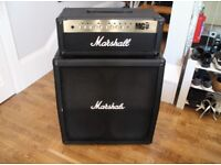 Marshall MG100 Half Stack - Two foot controllers + cables
