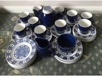 British Anchor Strata Caprice Tea Set