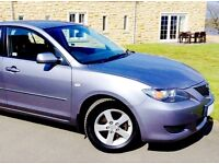 BEAUTIFUL MAZDA ONLY 4775 MILES ANNUALLY. 1 OWNER. PRICE KEPT LOW ONLY £1695