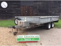 Bateson Trailer 6ftx11ft with ramps