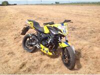 50cc moped supermoto motorbike
