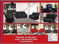 ROMA RECLINER SOFA/BEST PRICE RECLINER SOFA ALL OVER UK xNXn