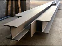 Rsj's, steel beams, structure steels, loft beams