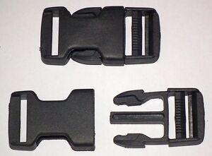 1 x Rucksack Schnalle Clip 25 mm Steckschnalle Steckverschluss Clip Tasche 20