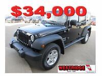 2015 Jeep WRANGLER UNLIMITED Sport,cloth interior,heated mirrors