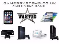 Wanted! Best prices paid for your Xbox One PS4 Wii U Xbox 360 PS3 3DS 2DS PS Vita PSP DS Phone items