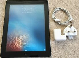 Apple iPad 3 (3rd Gen.) WiFi - 32GB - Black, Excellent Condition, Case/Cover Included