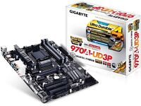 Gigabyte 970A-UD3P AMD AM3+ ATX Motherboard USB 3.0, SATA 3 and CrossFireX