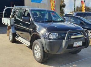 2014 Mitsubishi Triton GLX Duel Cab Tray 4x4 TURBO DIESEL LOW KMS Williamstown North Hobsons Bay Area Preview