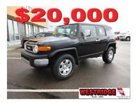 2007 Toyota FJ Cruiser Base, Remote Start, Tow Package, Backup S