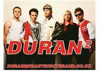 Duran Duran Tribute Band available for functions, venues and parties!