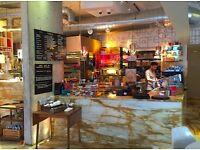 Floor manager - stylish Italian Canada Water Cafe SE16 - £30k plus bonus