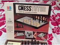 CHESS TUTOR. Learn By Yourself in 4 hours VINTAGE 1974 Learning Game - COMPLETE