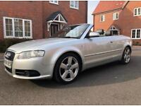 2008 AUDI A4 CABRIOLET TDI SLINE AUTO HEATED LEATHER BOSE HOI SWAP PART EX