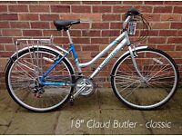 """Claud Butler ladies 18"""" Bike as New"""