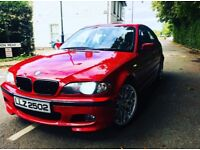 BMW 330D MSPORT IMOLA RED 280BHP MANUAL LOOKS AND DRIVES AMAZING PX WELCOME