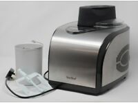 VonShef Fully Automatic Ice Cream Maker, Built in Compressor, 1.5L, LCD, No Pre Freezing required