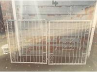 Galvanised Double Gates