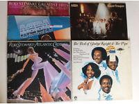 5 x Vinyl LP job lot Abba Rod Stewart Gladys Knight £5 Can post Very Good Condition