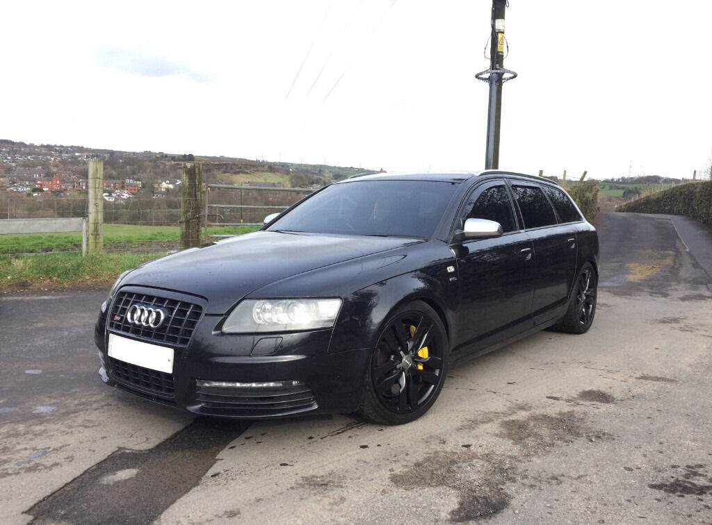 audi s6 v10 auto black high spec modified 2006 in oldham manchester gumtree. Black Bedroom Furniture Sets. Home Design Ideas
