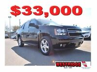 2013 Chevrolet Avalanche LT Black Diamond, Memory Seats, Backup