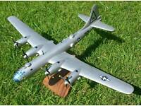 Boeing B29 Superfortress wooden model