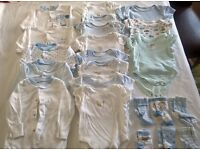 Boy and Neutral Baby Clothing Bundle age 0-3mths