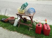Free Curbside Stuff - mostly outdoor