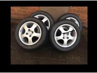 O.Z racing tyres/alloys