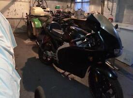 50cc moped / motorbike