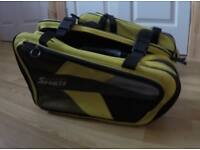 Oxford Sports throw over panniers