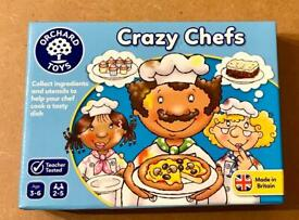 Orchard Toys Crazy Chefs Educational Game. Complete And Very Good Condition.