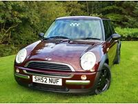 Mini One BMW 1.6 Leather 12MOT 89k FSH Fiesta Micra Corsa c3 c2 Astra Polo Golf 207 CMax Focus 107