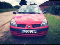 Renault Clio campus '06 plate