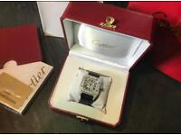 Cartier Santos ICED OUT Diamond watches