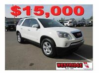 2009 GMC Acadia SLE, Remote Start, Tow Package, Backup Sensor