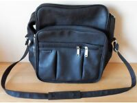 Small Holdall Black - Advance AD-9936 - unused - 3 zipped compartments
