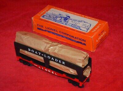 ORIGINAL LIONEL 6416 BOAT TRANSPORT CAR IN OB - UNRUN - KILLER!!! - NO RESERVE Lionel Car Transporter
