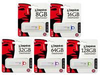 Kingston 16 GB DataTraveler USB3.1 3.0 2.0 DTIG4 16GB Flash Drive
