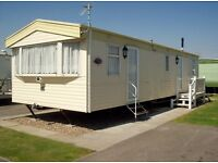 static caravan to hire rent let 3 bed 8 berth the wolds caravan park ingoldmells skegness