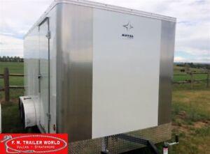 2017 Royal Cargo 7x14 LT   Cargo   Ramp Door   White