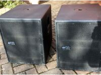 RCF TTs12a 1000watt Theatre and Touring high definition 1x12 subs RCF top of the rannge