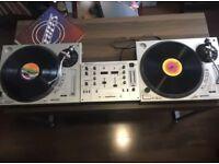 Gemini XL 500 MKII x2, Stanton 505 SKII x2, DJM 300 Learn to DJ startup kit