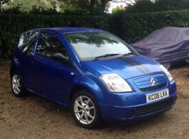 Citroen C2 Design 1.1i hatchback .Long MOT.Lovely condition throughout.New cam belt.Well maintained.